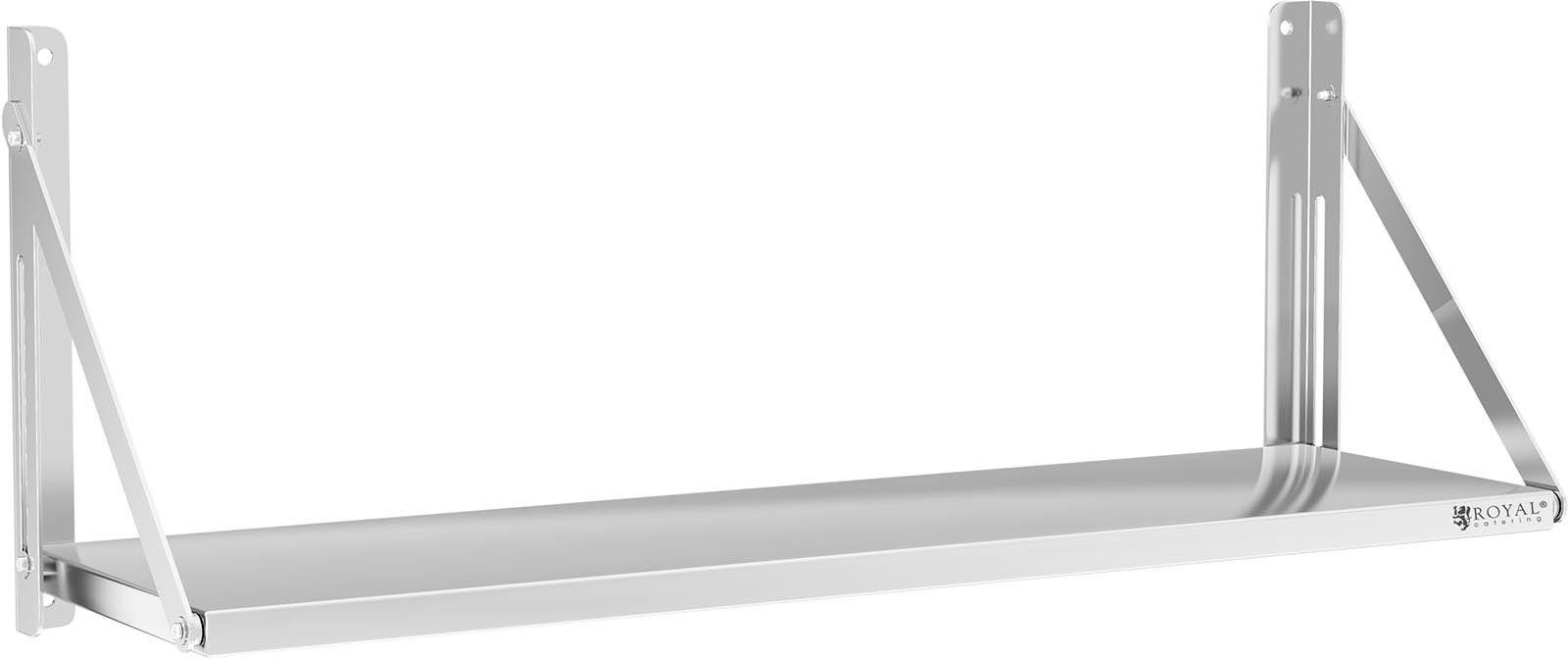 Półka składana - 120 x 30 cm ROYAL CATERING 10011713 RC-BFWH12030