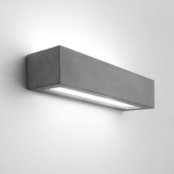 Betonowy kinkiet SOLID prostokąt 51,5cm