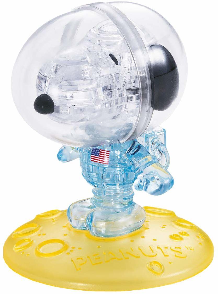 HCM Kinzel 90427 Crystal Puzzle - Snoopy astronaut