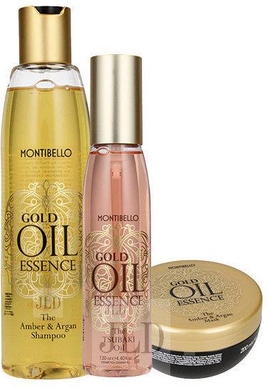 Montibello Gold Oil Essence zestaw z olejkiem Tsubaki