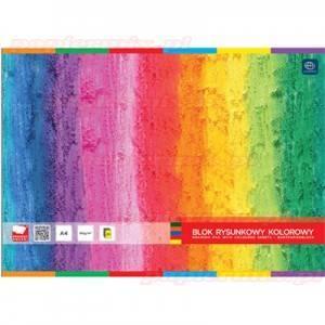 Blok rysunkowy kolorowy A4 20 - X04579
