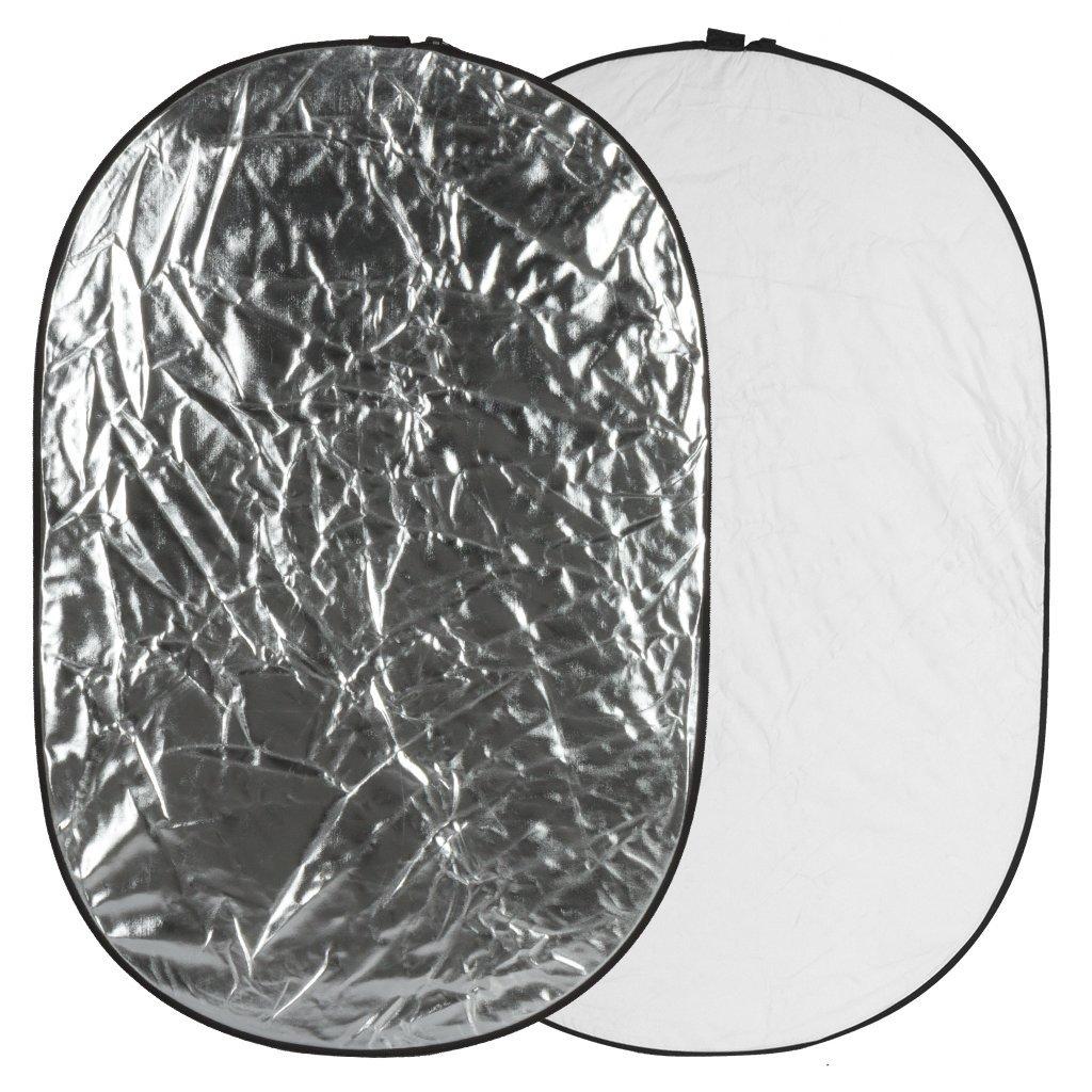 Blenda GlareOne 2w1 91x122cm srebrno biała