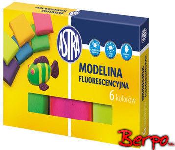 Modelina fluorescencyjna 6 kolorów ASTRA 83911902