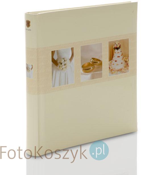 Album ślubny Henzo Fiesta Krem (tradycyjny 60 białych stron)