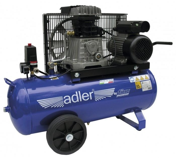 Sprężarka dwucylindrowa kompresor AD 268-50-2 ADLER