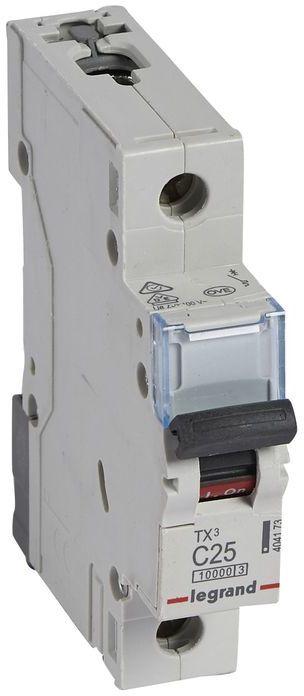Wyłącznik nadprądowy 1P C 25A 10kA AC S311 TX3 404173