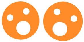 Krążki wypornościowe 160x27mm pomarańczowy