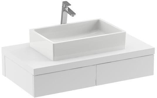 Ravak Szafka podumywalkowa SD Formy 100 cm biały połysk X000001030