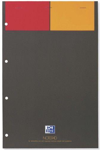 Notatnik biurowy OXFORD NOTEPAD A4+ / 80k kratka 357001101