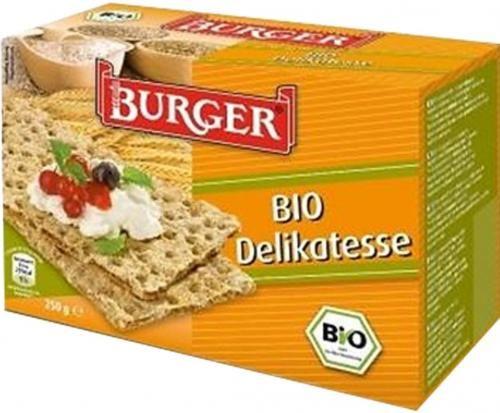 Pieczywo chrupkie razowe ŻYTNIE BIO 250g Burger