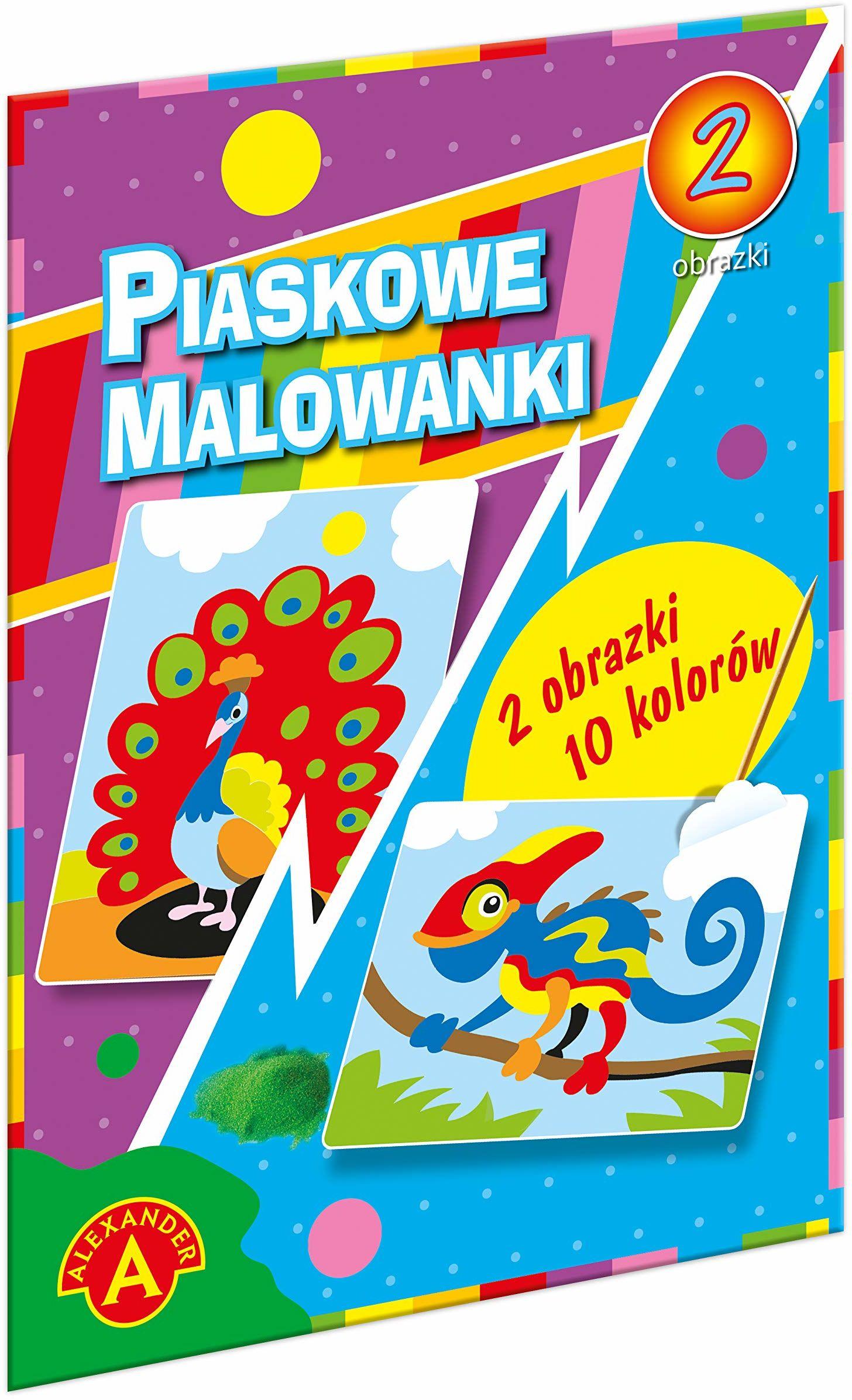Z.P. Alexander 1399 Piaskowa Malowanka-Kameleon,Paw