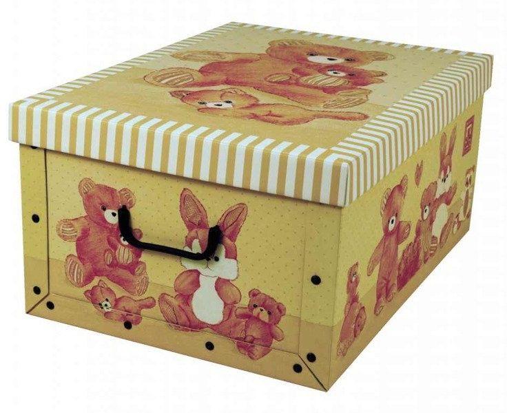 Pudełko kartonowe MINI MISIE BEŻOWE