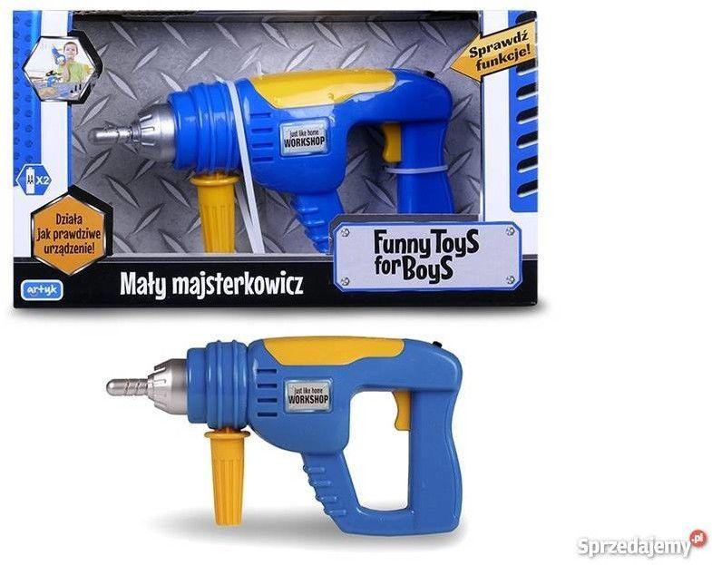 Artyk 130274 toys for boys wiertarka obrotowe wiertło