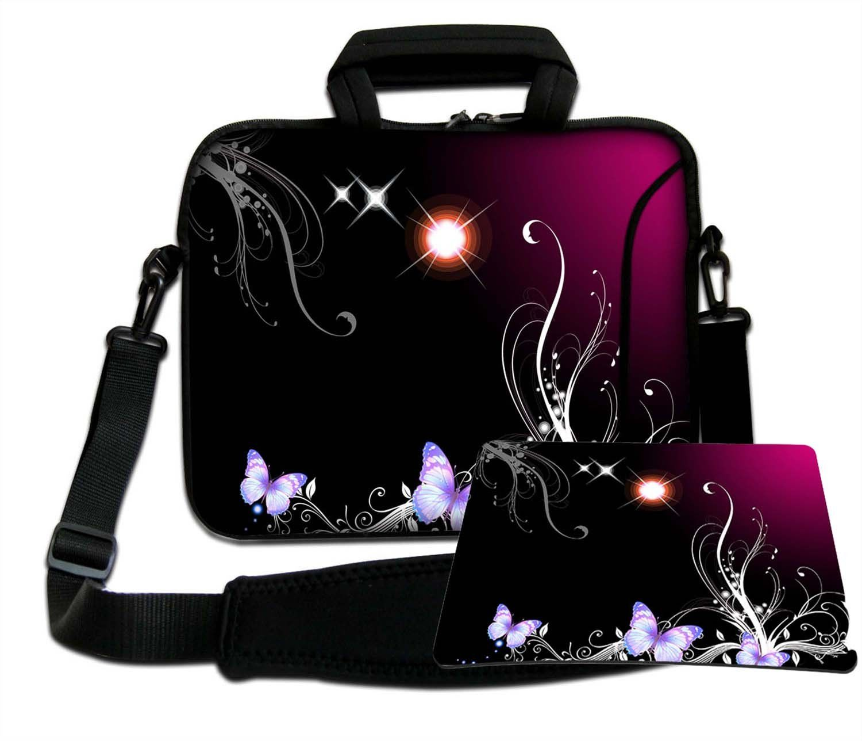 Luxburg torba na ramię torba na notebooka torba na laptopa torba z paskiem z neoprenu Plus Free Moupad! Do Apple, Acer, Asus, Chromebook, Dell, HP, Lenovo, Samsung, Sony itd. Laptop 15,6 cala
