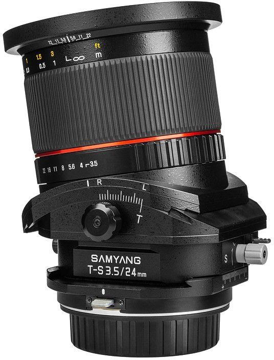 Obiektyw Samyang T-S 24mm f/3.5 ED AS UMC Canon