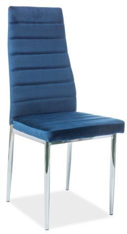 Krzesło H-261 VELVET granatowe  Kupuj w Sprawdzonych sklepach