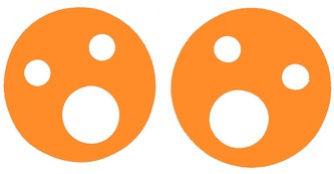 Krążki wypornościowe 160x38mm pomarańczowy