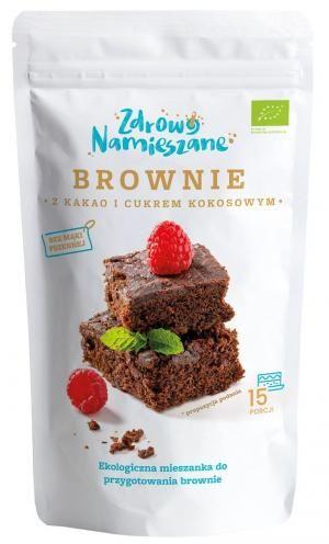 Brownie z kakao i cukrem kokosowym BIO 290 g Zdrowo Namieszane