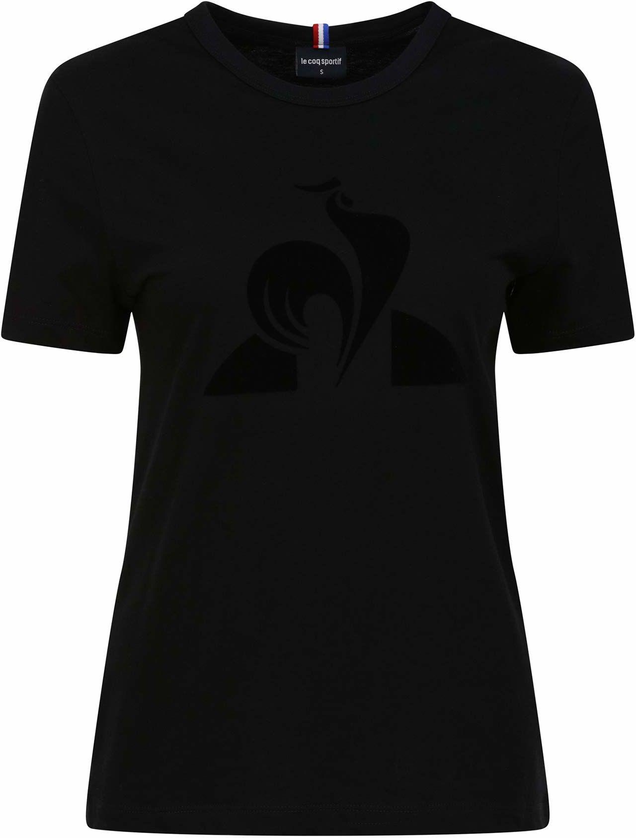 Le Coq Sportif Ess Tee Ss N 1 podkoszulek damski czarny czarny X-S
