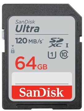 Karta pamieci SANDISK SDHC 64GB Ultra 120MB/s SDSDUN4-064G-GN6IN