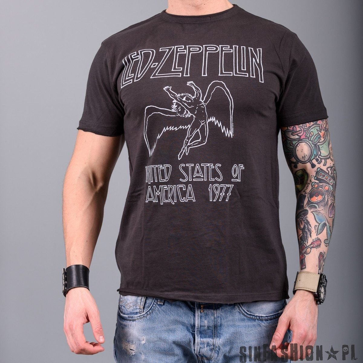 Koszulka amplified - led zeppelin 77 cc