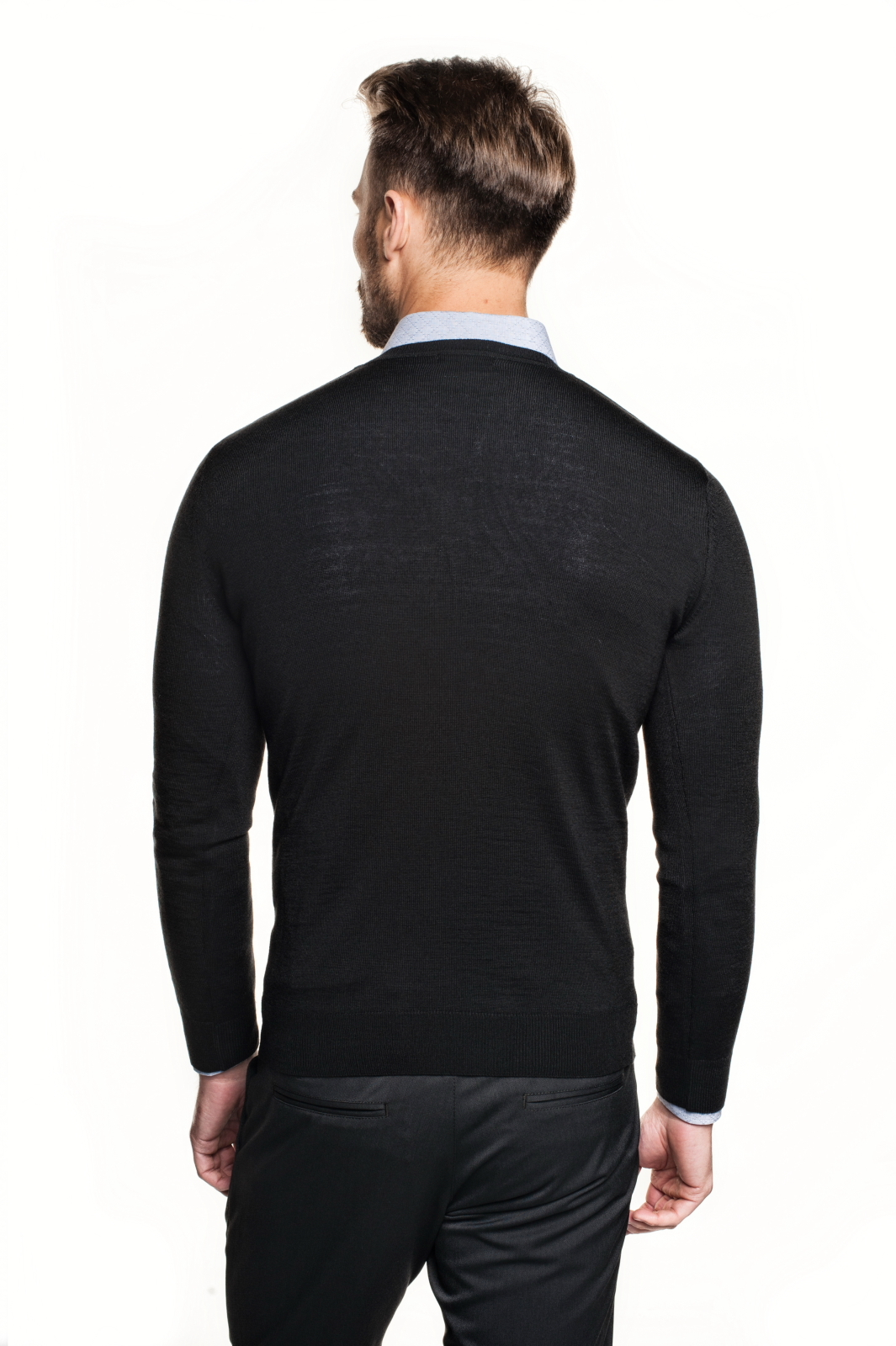 sweter vetica półgolf czarny