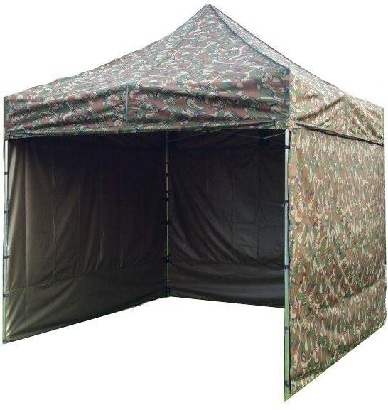 Namiot ogrodowy PROFI STEEL 3 x 3 - maskujący