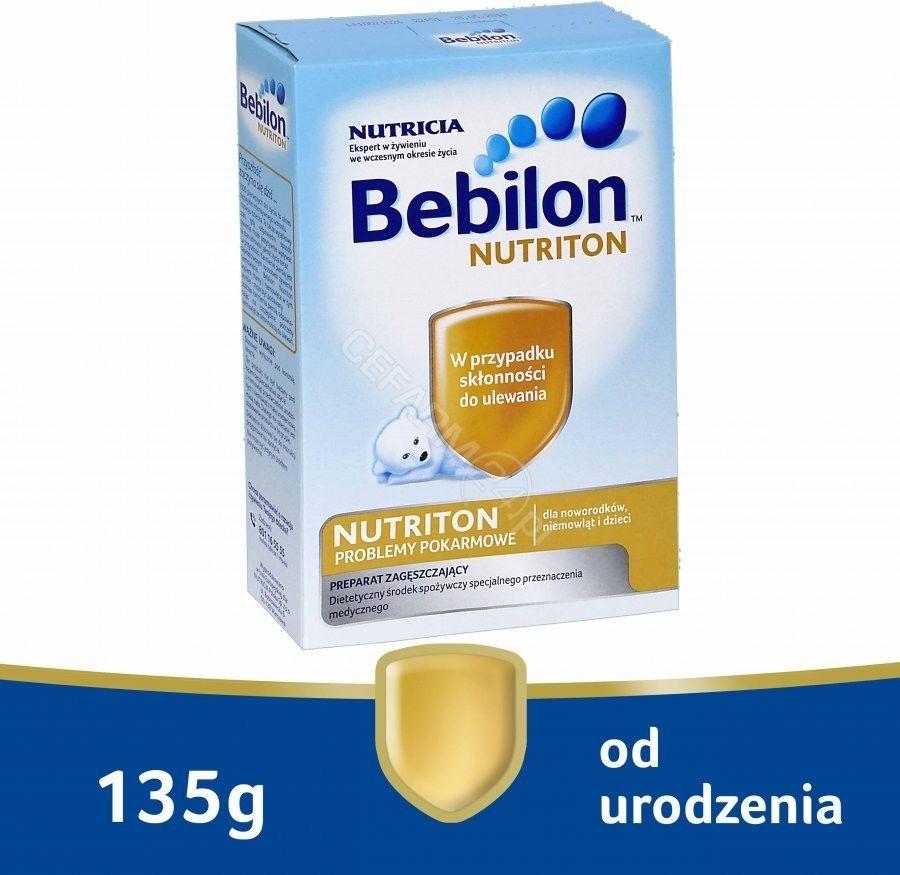 Bebilon Nutriton 135g proszek na ulewanie i trudności w przełykaniu