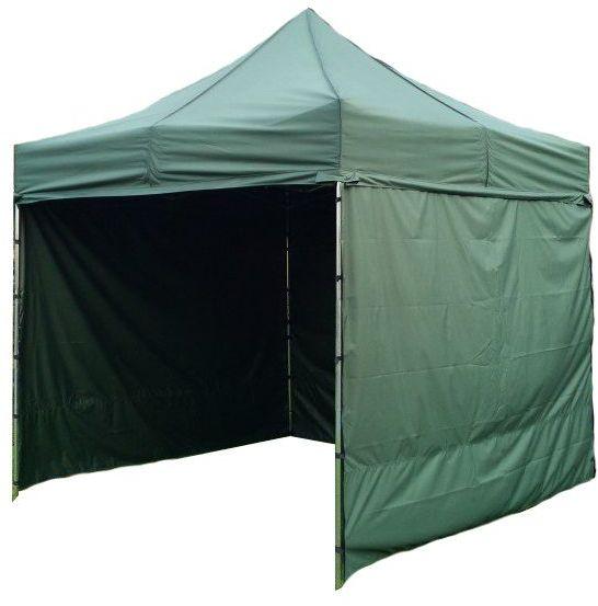 Namiot ogrodowy PRO STEEL 3 x 3 - ciemnozielony