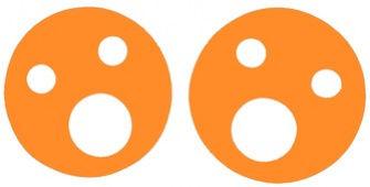 Krążki wypornościowe 200x38mm pomarańczowy
