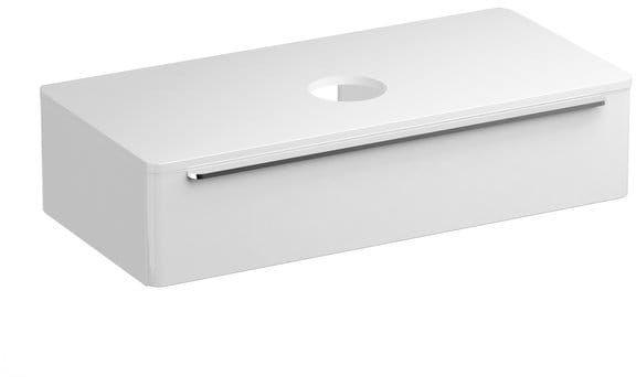 Ravak Szafka podumywalkowa SUD 110 cm biały połysk X000001082