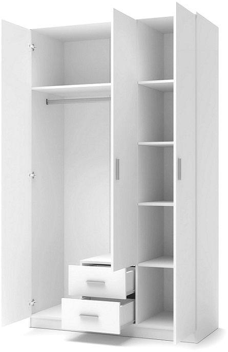Szafa SUCRE 120x52x205 biała