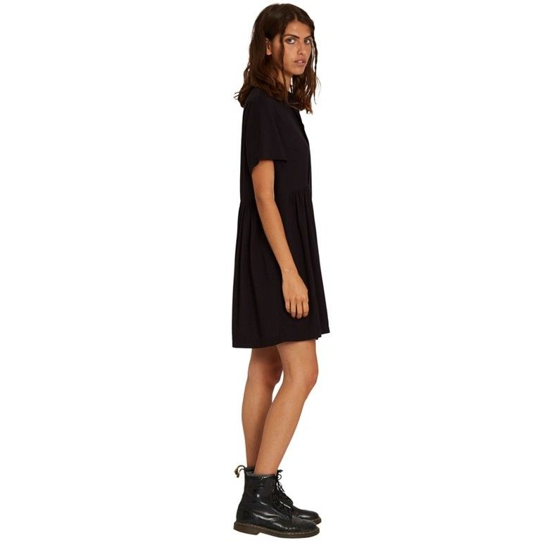 sukienka VOLCOM - Thats My Type Ss Dress Black (BLK)