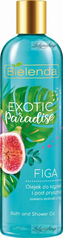 Bielelda - Exotic Paradise - Bath and Shower Oil - Olejek do kąpieli i pod prysznic - Figa - 400 ml