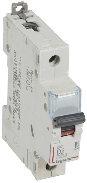 Wyłącznik nadprądowy 1P D 2A 10kA AC S311 DX3 409425