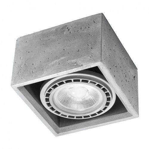 Lampa sufitowa QUATRO 1 beton SL.0883 - Sollux  SPRAWDŹ RABATY  5-10-15-20 % w koszyku