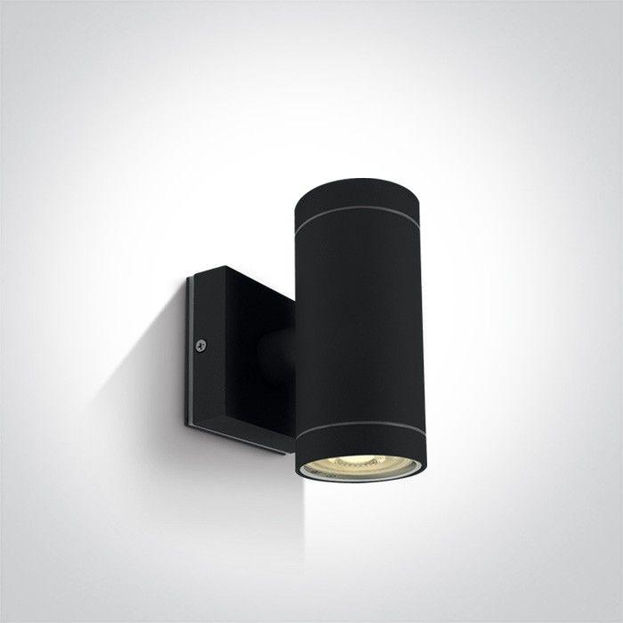Kinkiet elewacyjny IP54 Lido II czarny 2 punktowy 67130/B - OneLight Do -17% rabatu w koszyku i darmowa dostawa od 299zł !
