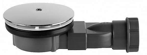 Radaway syfon 90 mm z membraną silikonową R400 Slim