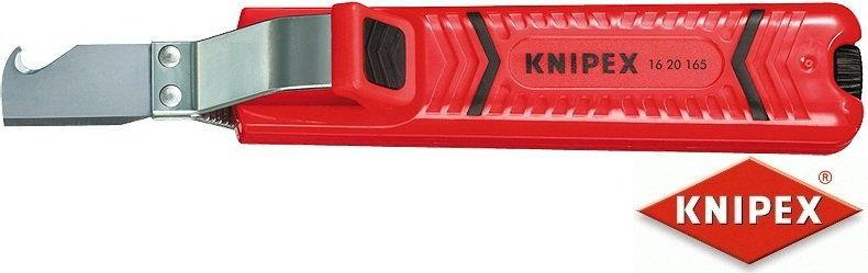 uniwersalny ściągacz izolacji, 8-28mm, Knipex [16 20 165 SB]