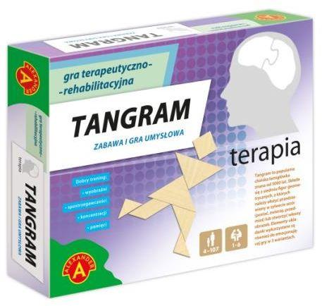 Terapia Tangram ZAKŁADKA DO KSIĄŻEK GRATIS DO KAŻDEGO ZAMÓWIENIA