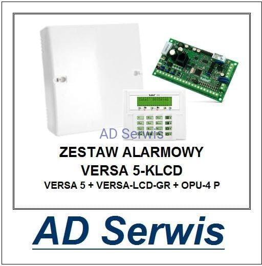 Zestaw alarmowy VERSA 5-KLCD Satel