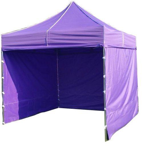 Namiot ogrodowy PROFI STEEL 3 x 3 - fioletowy