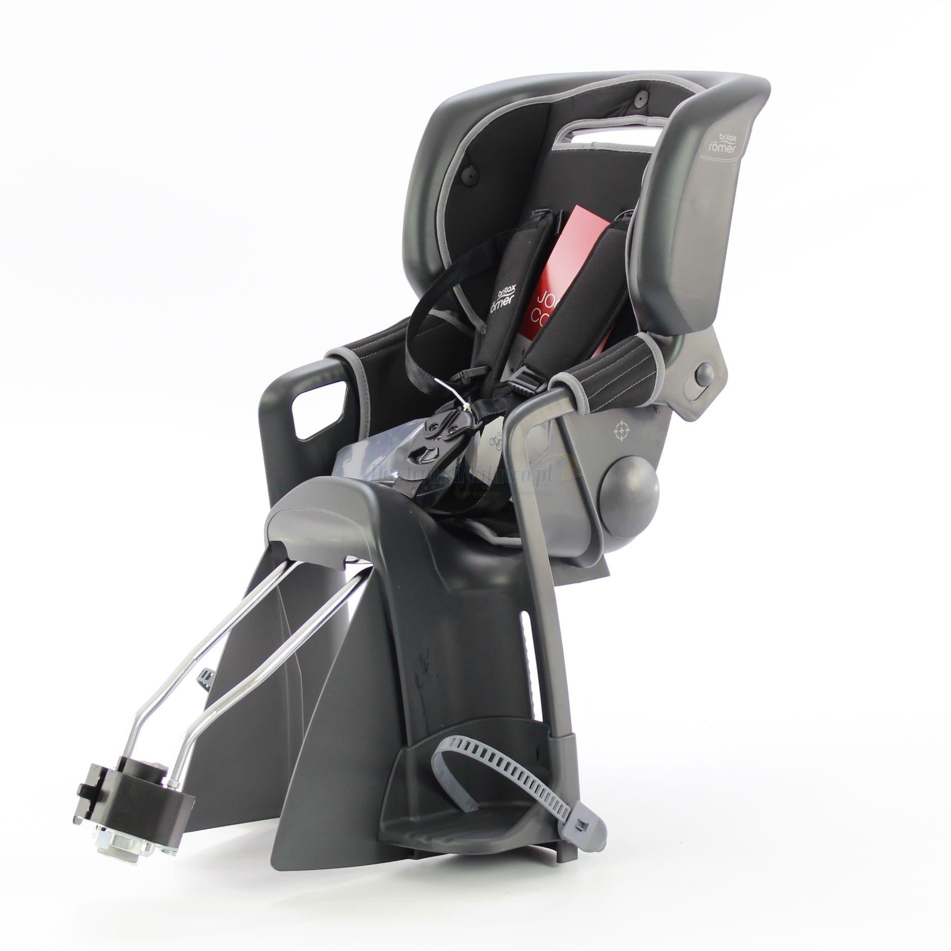 Fotelik rowerowy ROMER JOCKEY 3 COMFORT BRITAX- kolor szaro-czarny 2020