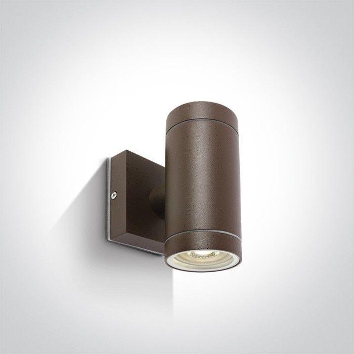 Kinkiet elewacyjny Lido II brązowy IP54 2 punktowy NL67130BR - Zeni Do -17% rabatu w koszyku i darmowa dostawa od 299zł !