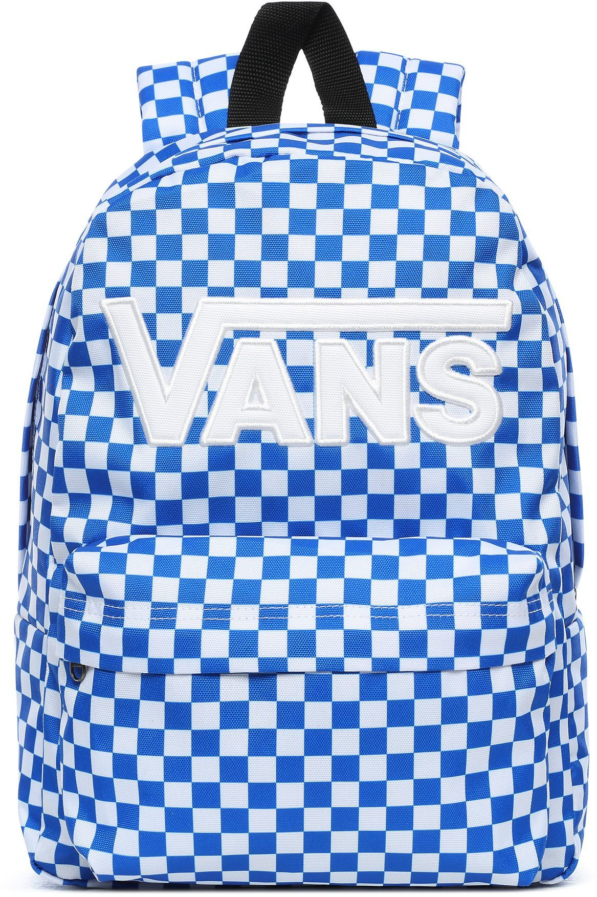 plecak dziecięcy VANS BOYS NEW SKOOL BACKPACK Victoria Blue Check