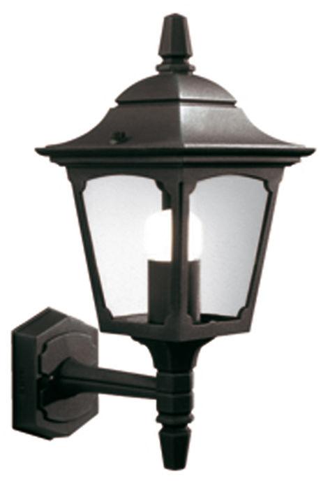 Kinkiet zewnętrzny Chapel Mini CPM1 BLK Elstead Lighting klasyczna oprawa w kolorze czarnym