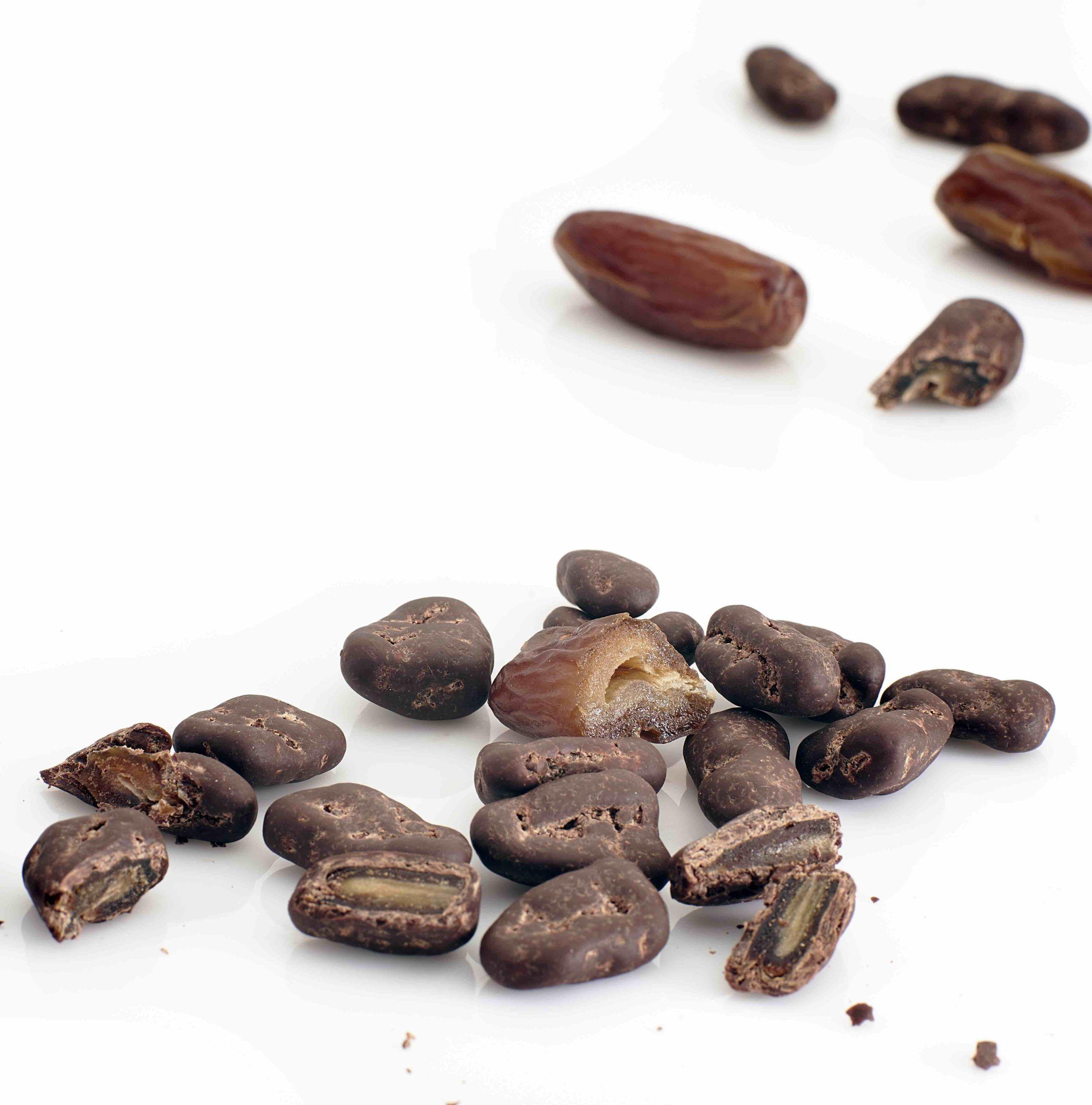 Daktyle w ciemnej czekoladzie RAW 65% - BIO