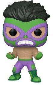 Figurka GOOD LOOT POP Marvel: Luchadores - Hulk. > DARMOWA DOSTAWA ODBIÓR W 29 MIN DOGODNE RATY