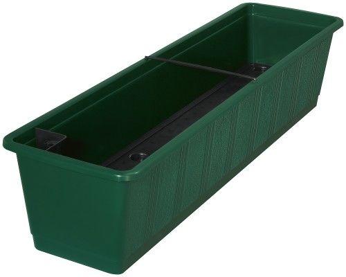 Doniczka samonawadniająca Ciemny Zielony 80x21x18cm Aqua Green, Geli