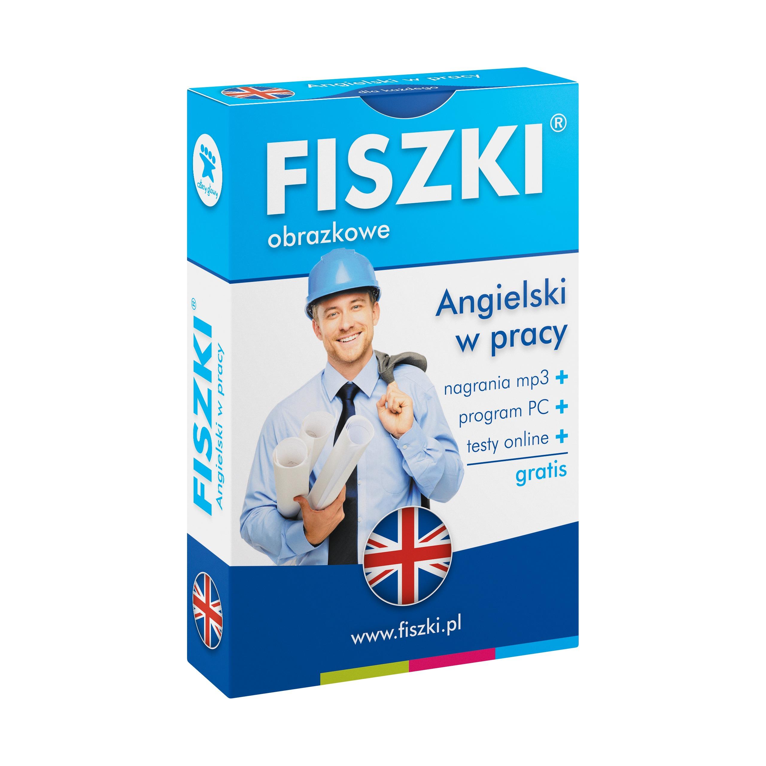 FISZKI obrazkowe - angielski - Angielski w pracy